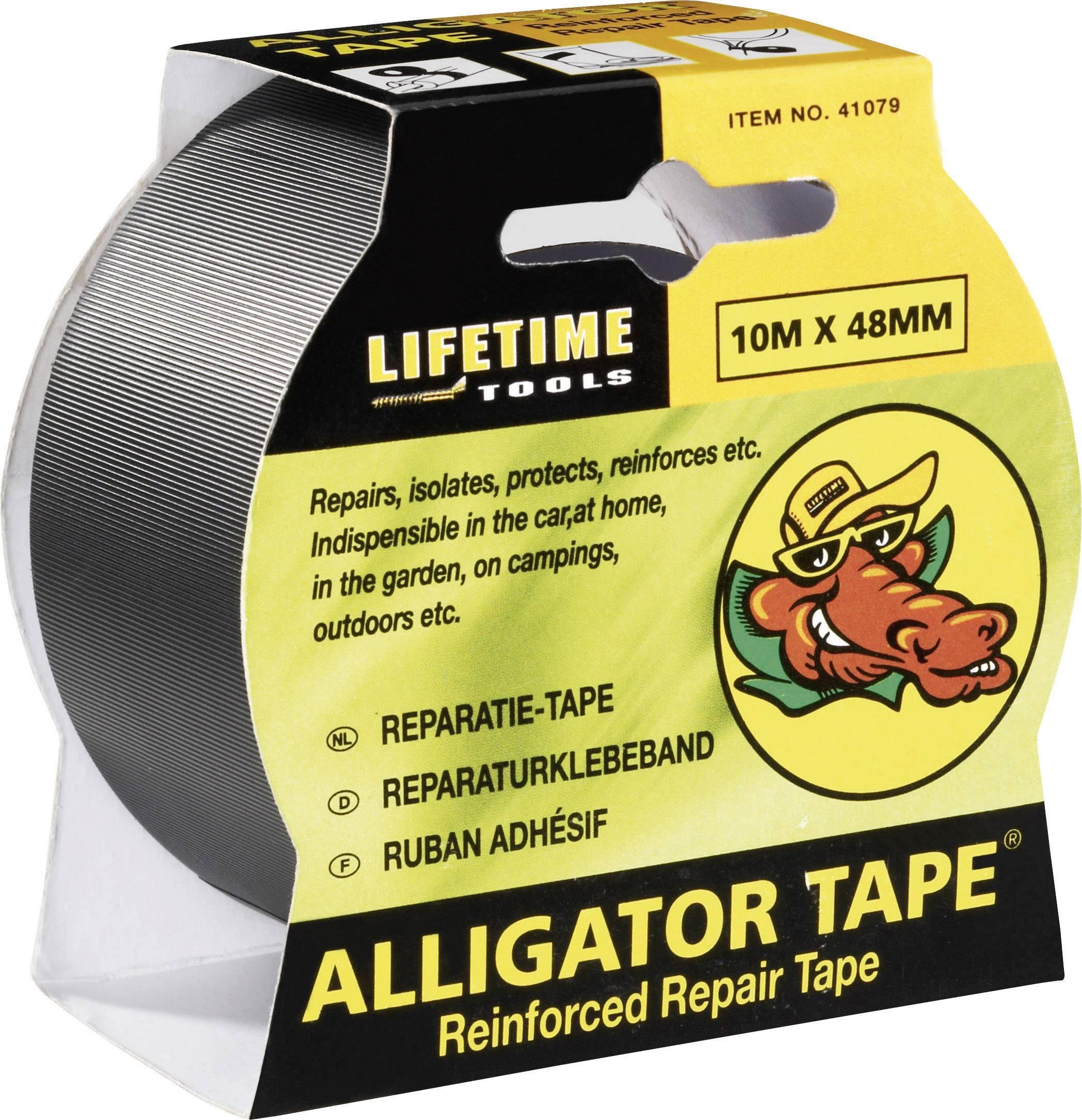 Gaffa Alligator Tape 304185, (d x š) 10 m x 50 mm, černá, 1 ks