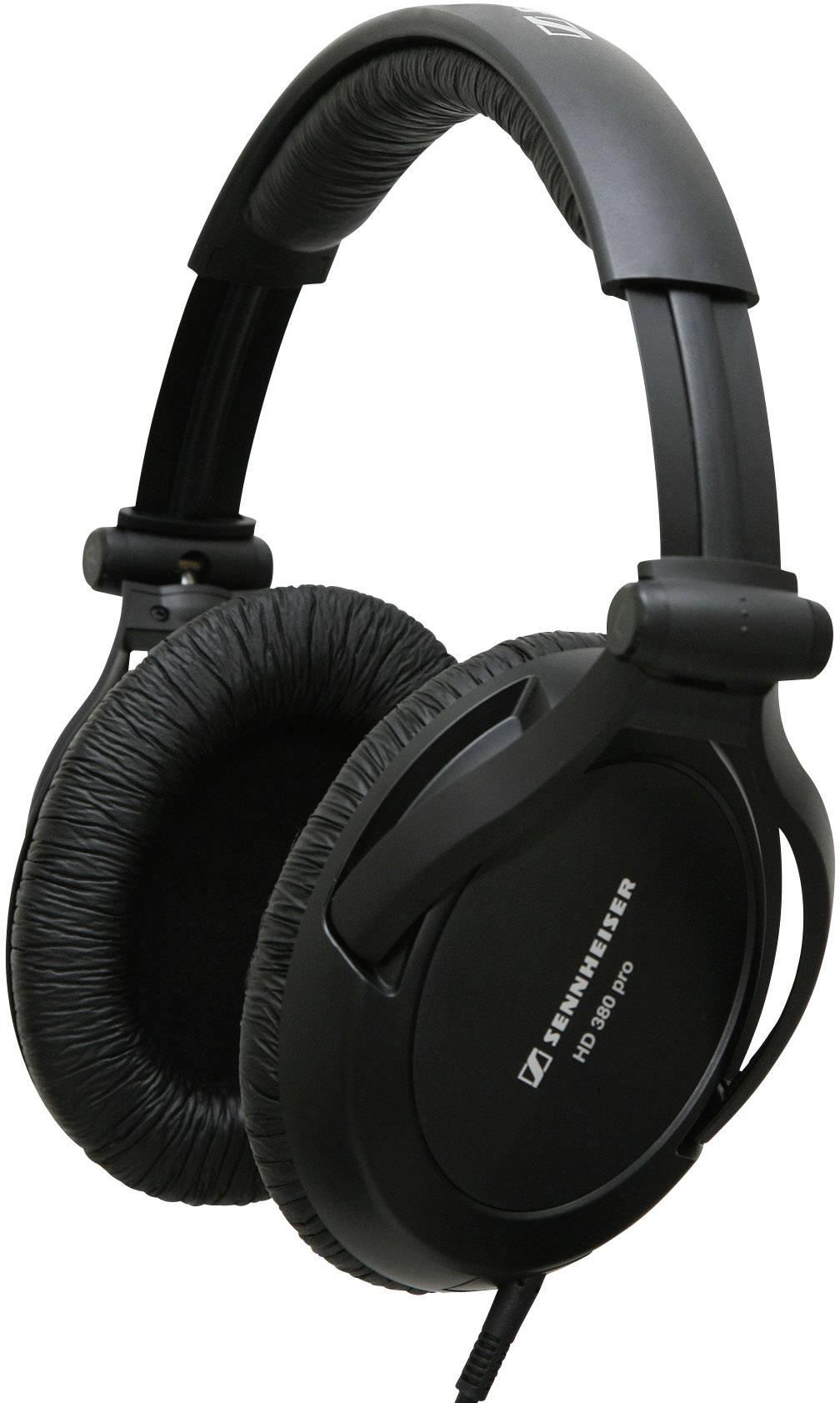Štúdiové slúchadlá Sennheiser HD 380 Pro 502717, čierna