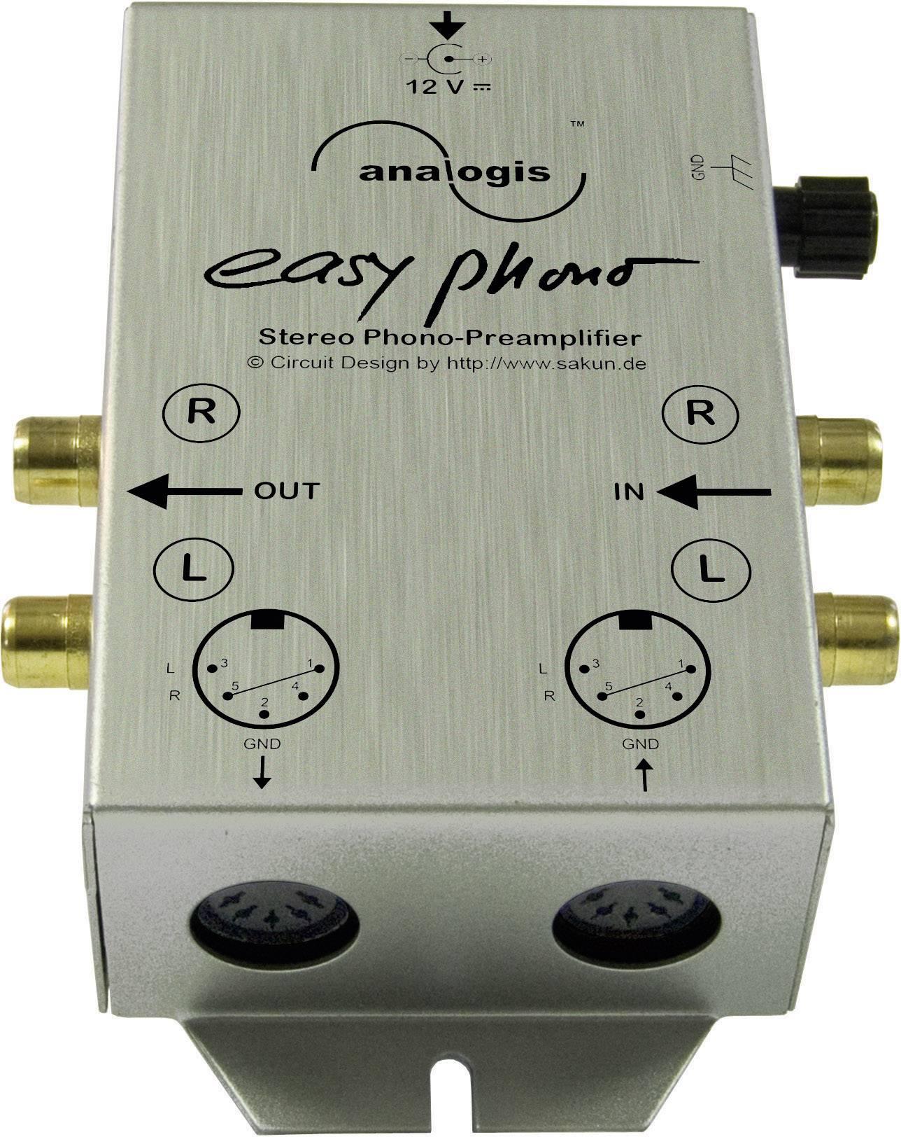 Ekvalizér / předzesilovač Easy Phono