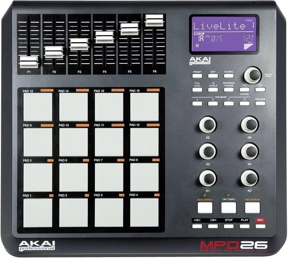 Syntetizátory, samplery, MIDI kontroléry