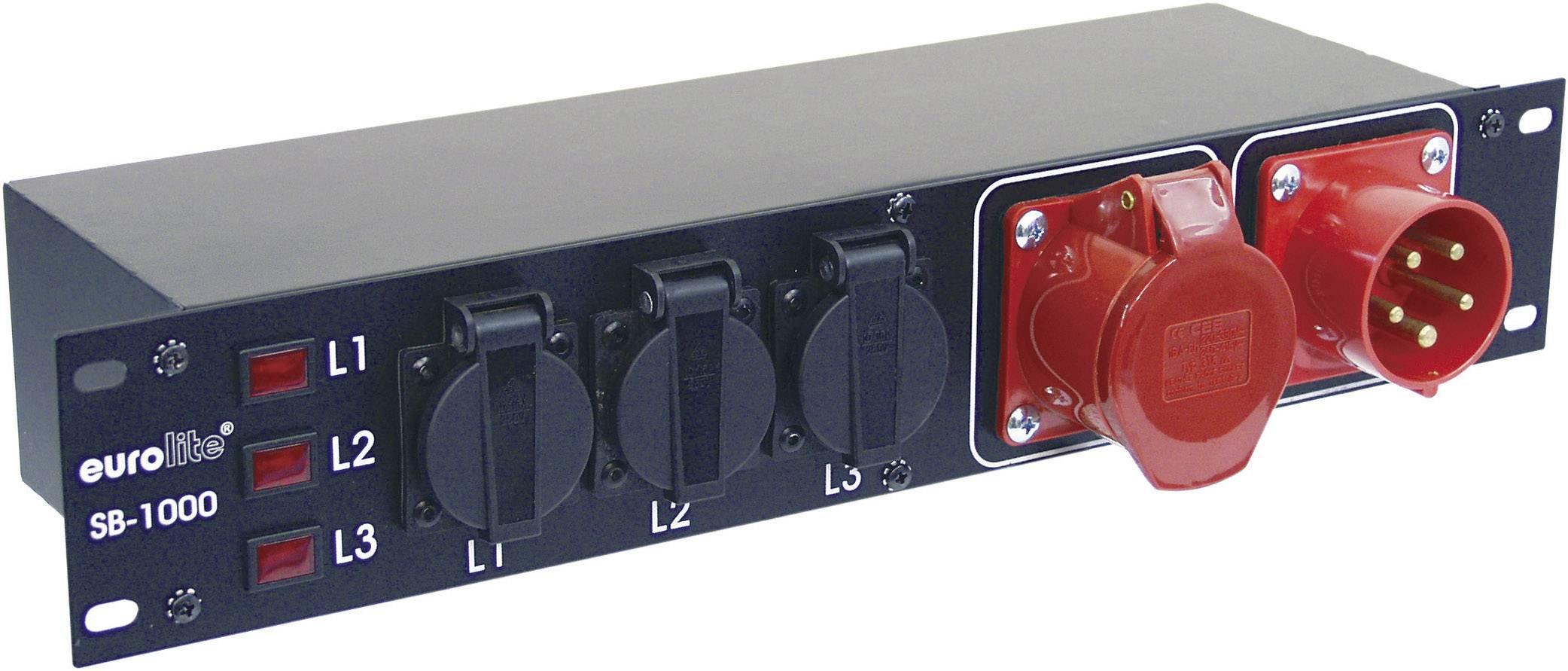 Napájecí systém CEE Eurolite SB-1000, 16 A