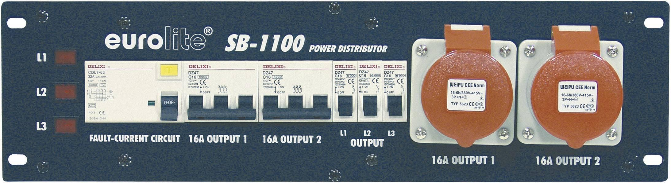 Napájecí systém Eurolite SB-1100, 32 A