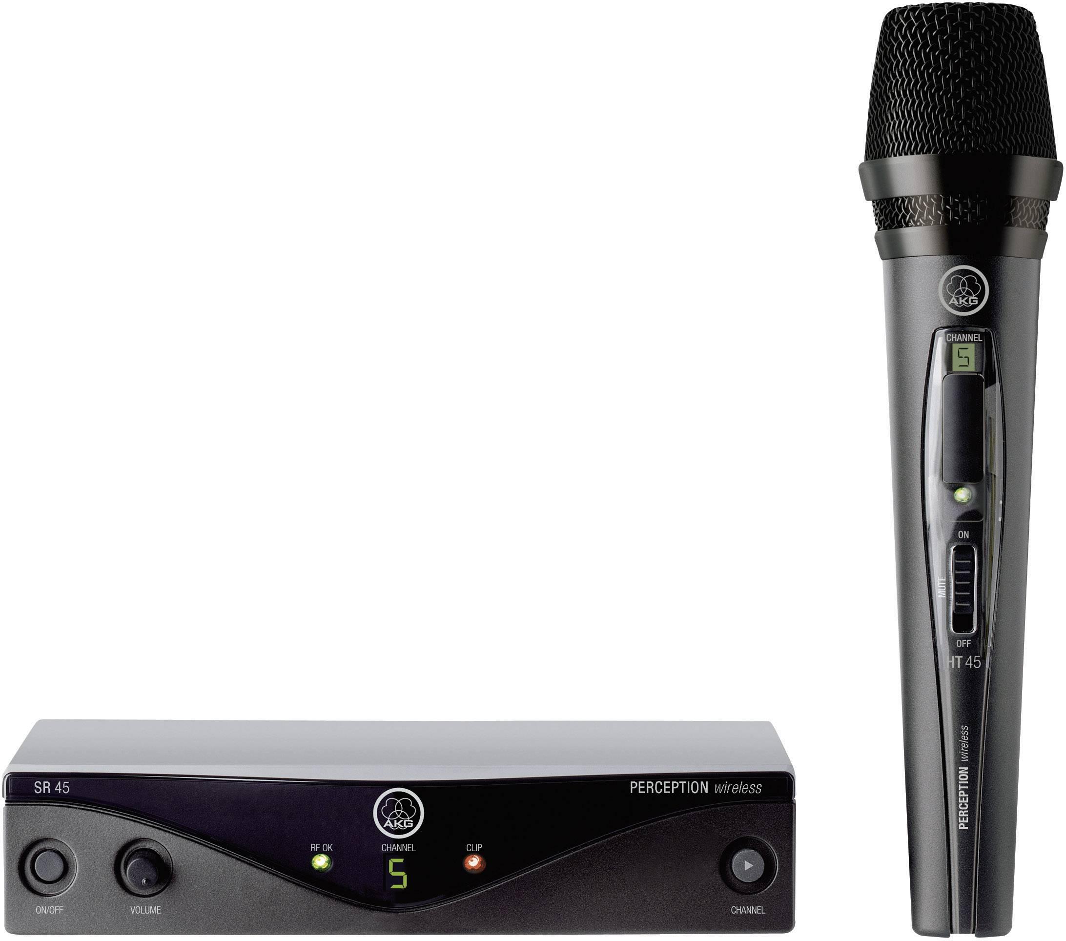 Sada bezdrôtového mikrofónu AKG PW45