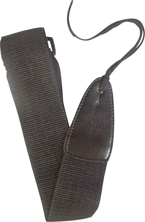 Kytarový pás MSA Musikinstrumente BB, 150 cm, černá