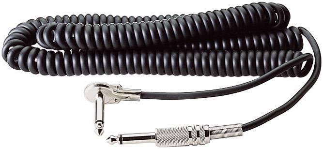 Kabel k elektrickým kytarám 6,3 mm jack, 6 m