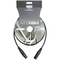 DMX DMX prepojovací kábel AH Cables KDMX10, [1x XLR zástrčka - 1x XLR zásuvka], 10.00 m