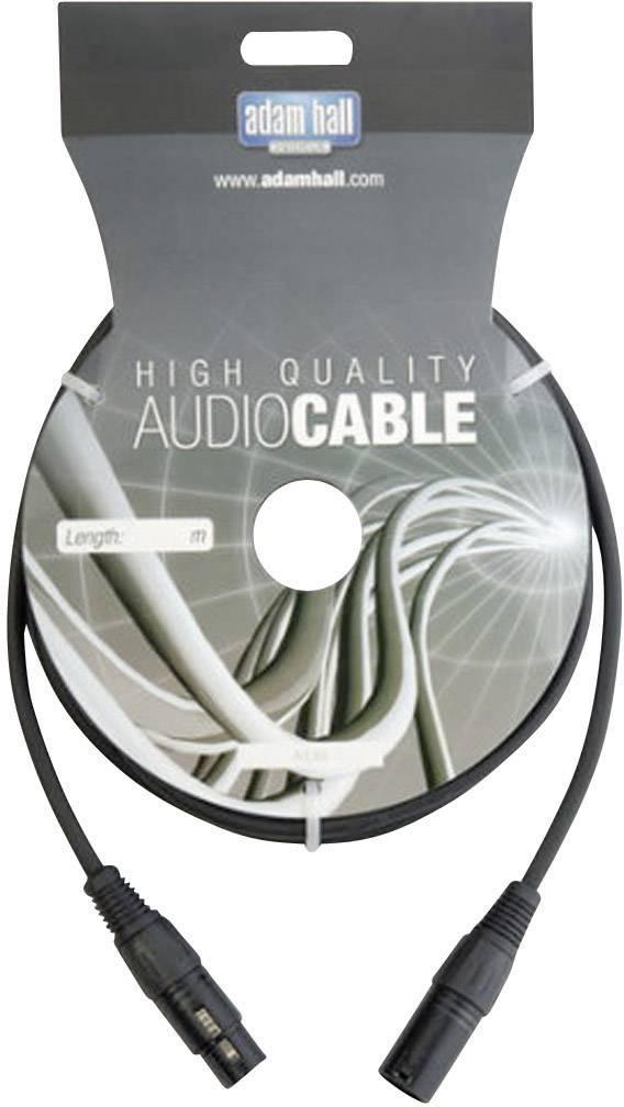 DMX prepojovací kábel AH Cables KDMX15, [1x XLR zástrčka - 1x XLR zásuvka], 15 m