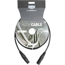 DMX DMX prepojovací kábel AH Cables KDMX150, [1x XLR zástrčka - 1x XLR zásuvka], 1.50 m