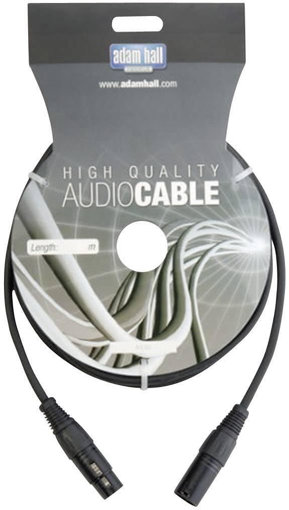 DMX prepojovací kábel AH Cables KDMX20, [1x XLR zástrčka - 1x XLR zásuvka], 20 m