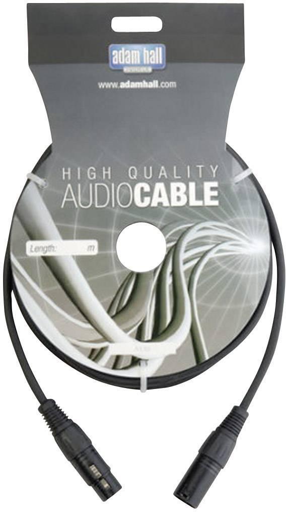 DMX prepojovací kábel AH Cables KDMX6, [1x XLR zástrčka - 1x XLR zásuvka], 6 m