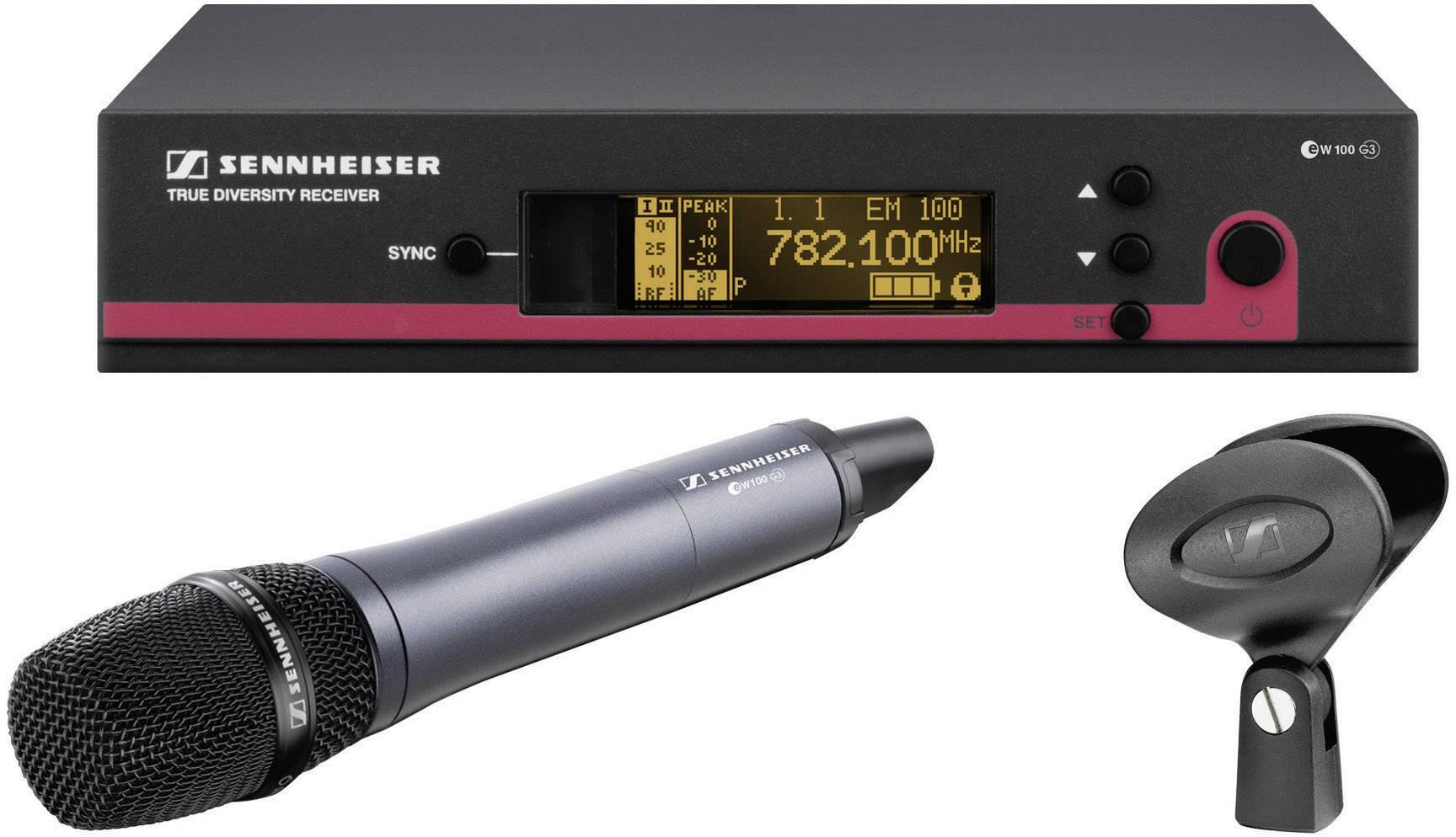 Sada bezdrôtového mikrofónu Sennheiser ew 135-E-G3