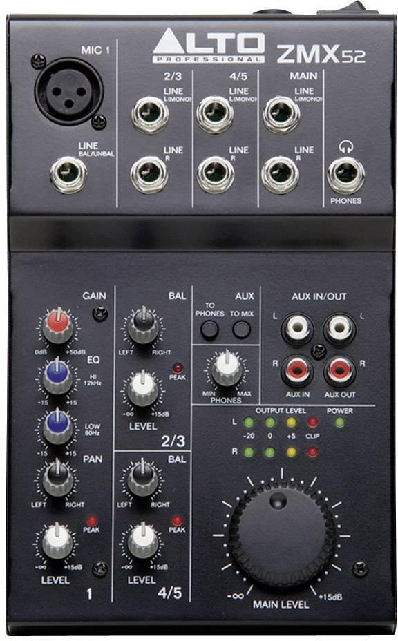Mixážní pult Alto Zephyr ZMX52