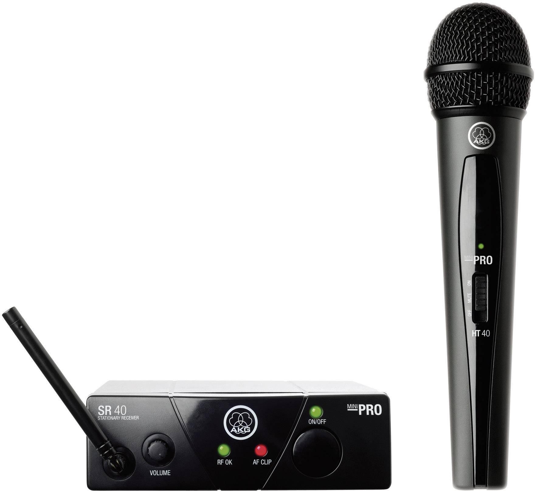 Sada bezdrôtového mikrofónu AKG WMS40Mini Vocal Set ISM1