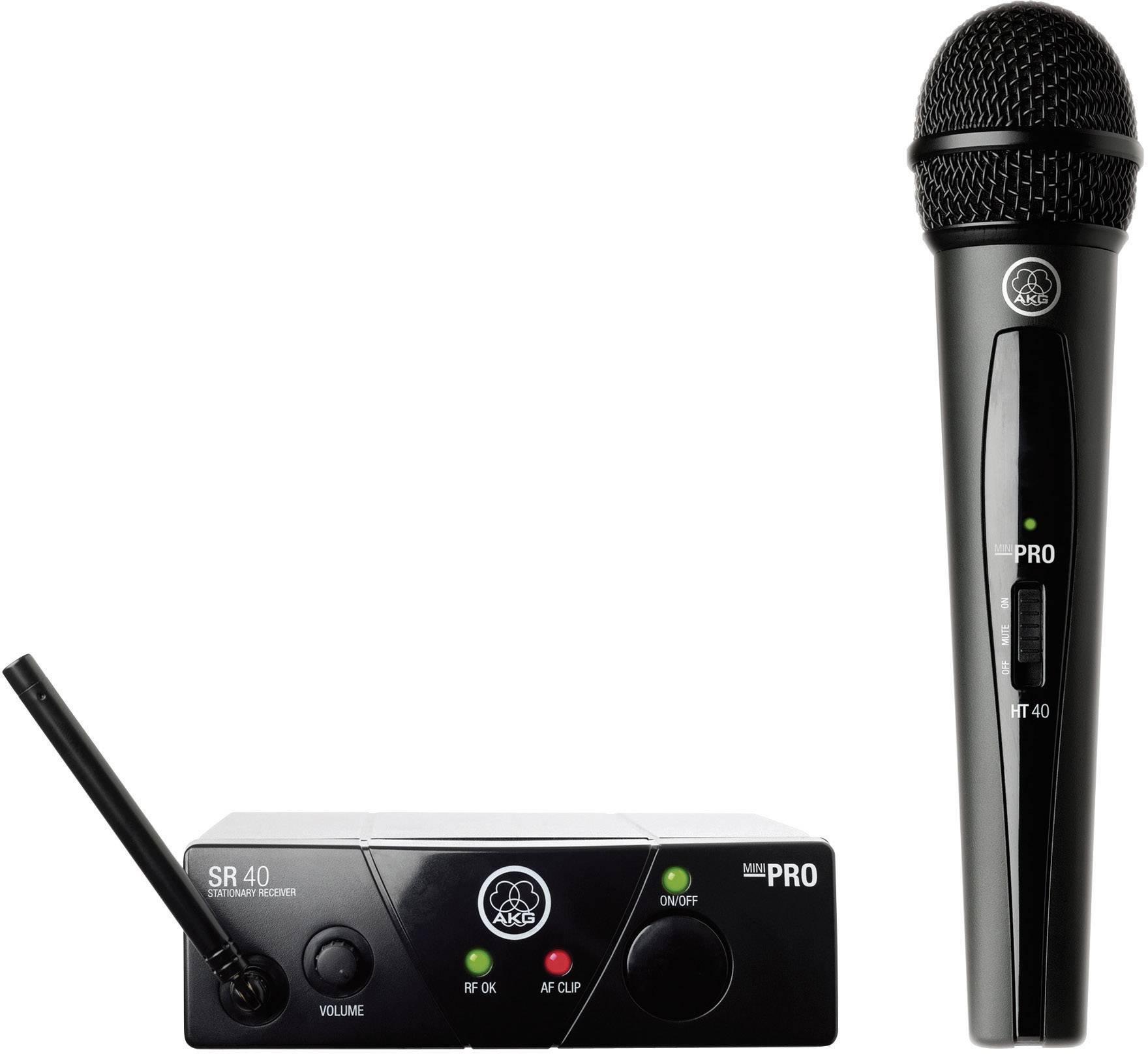 Sada bezdrôtového mikrofónu AKG WMS40Mini Vocal Set ISM2