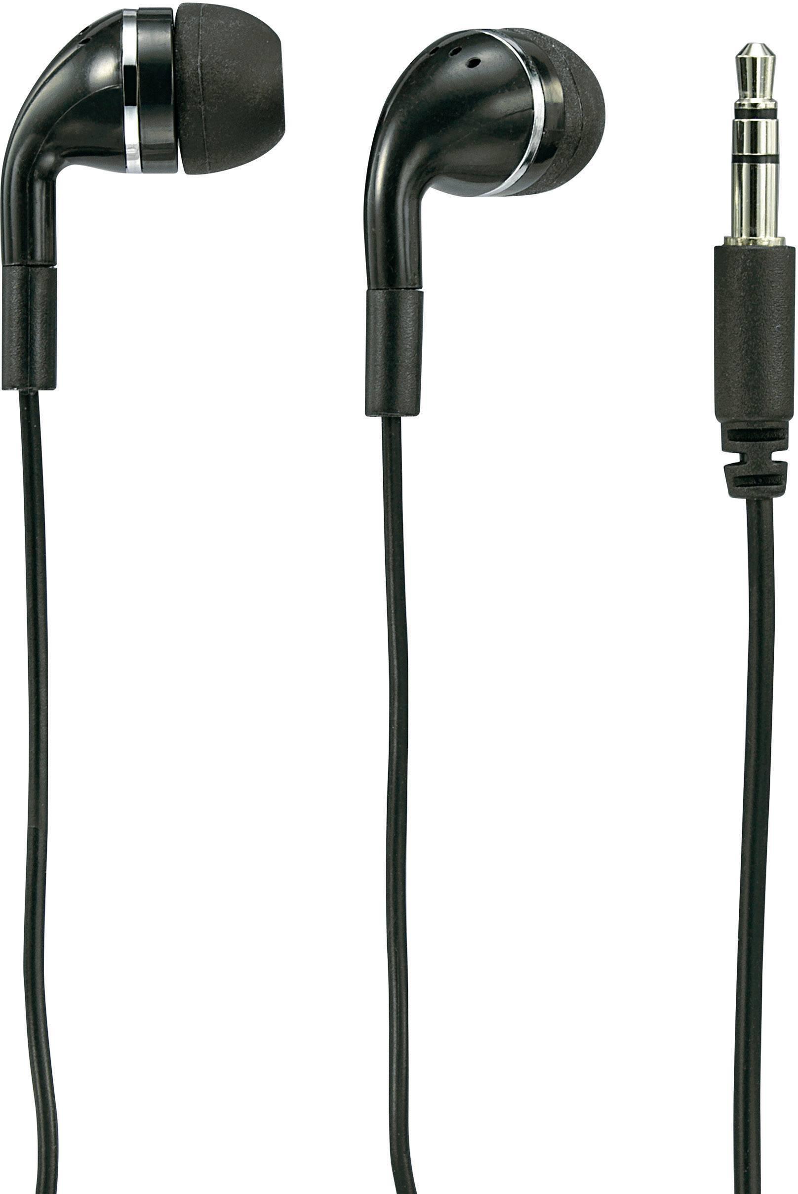 Sluchátka do uší Basetech E-H 115 BT-311264, černá