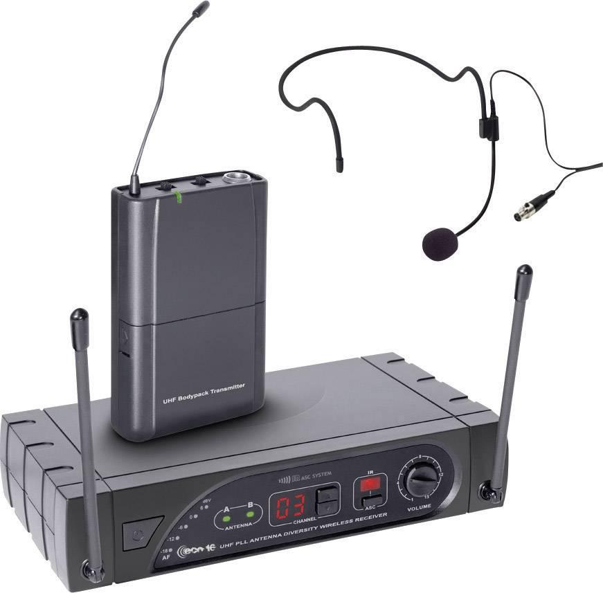 Bezdrôtový sada bezdrôtového mikrofónu headset LD Systems D1015CM LDWSECO16BPH