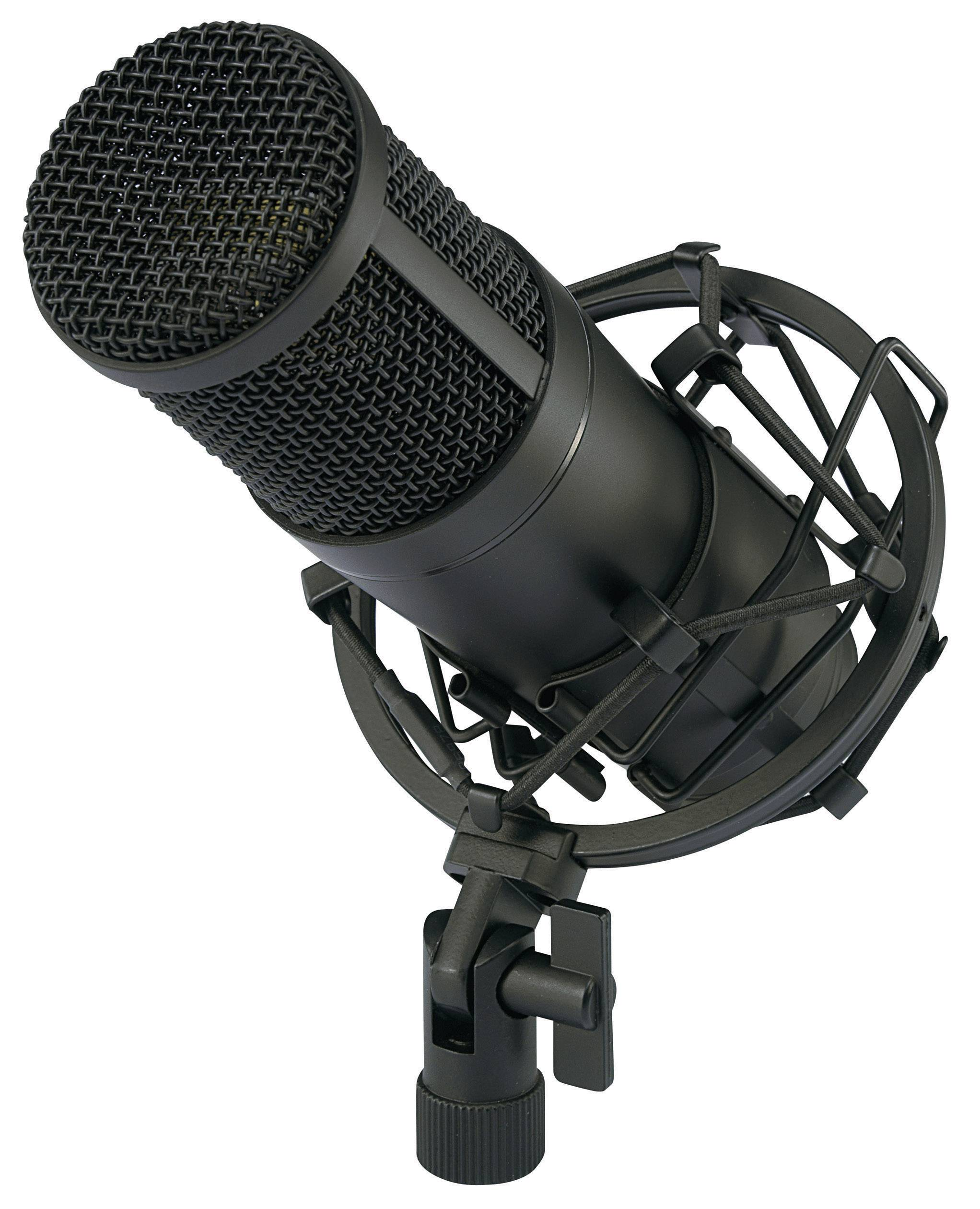 USB štúdiový mikrofón Renkforce CU-4