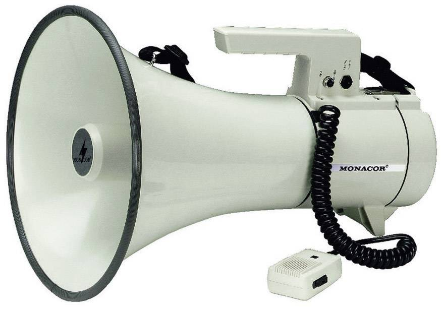 Megafón Monacor TM-35, 35 W, max.dosah 800 m