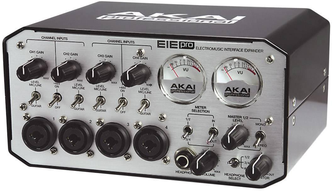 Audio/MIDI rozhraní s USB hubem AKAI EIE Pro