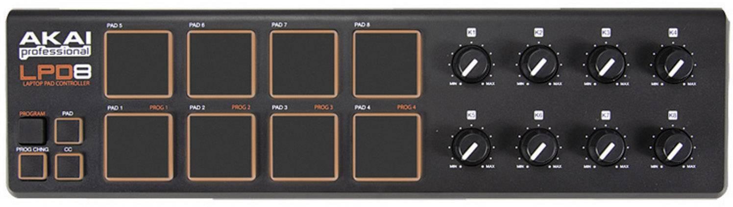 MIDI kontrolér s USB AKAI Professional LPD8