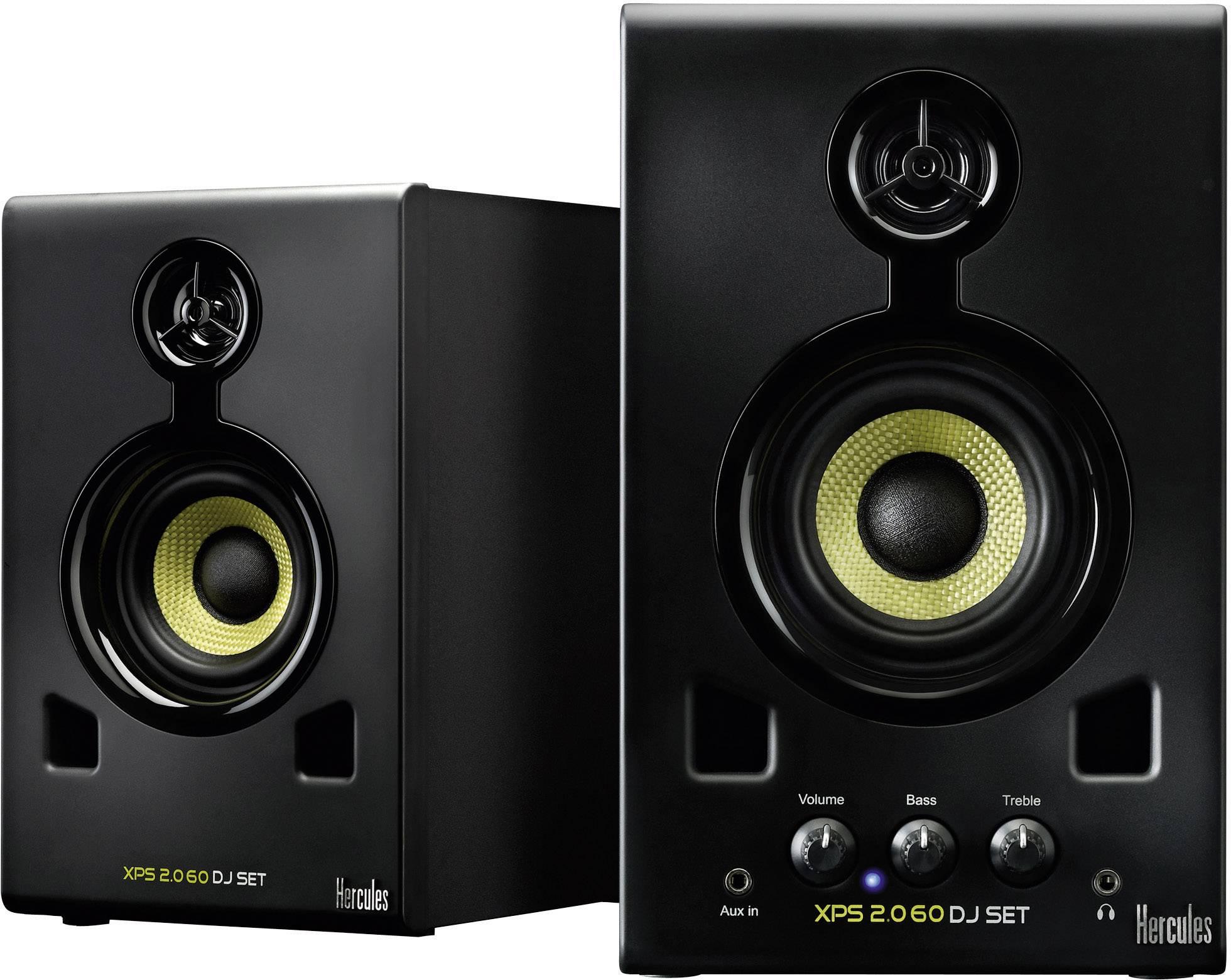 Aktivní DJ monitory Herculesx XPS 20-60, 4 Ω, 30/60 W, černá