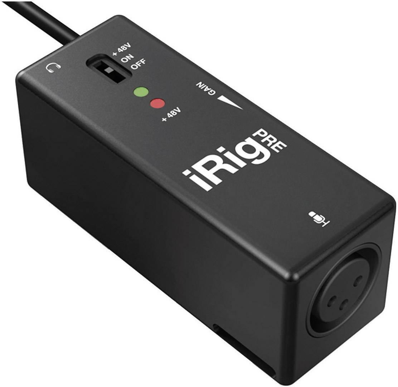 Mikrofónny predzosilňovač IK Multimedia iRig Pre, 1-kanálový