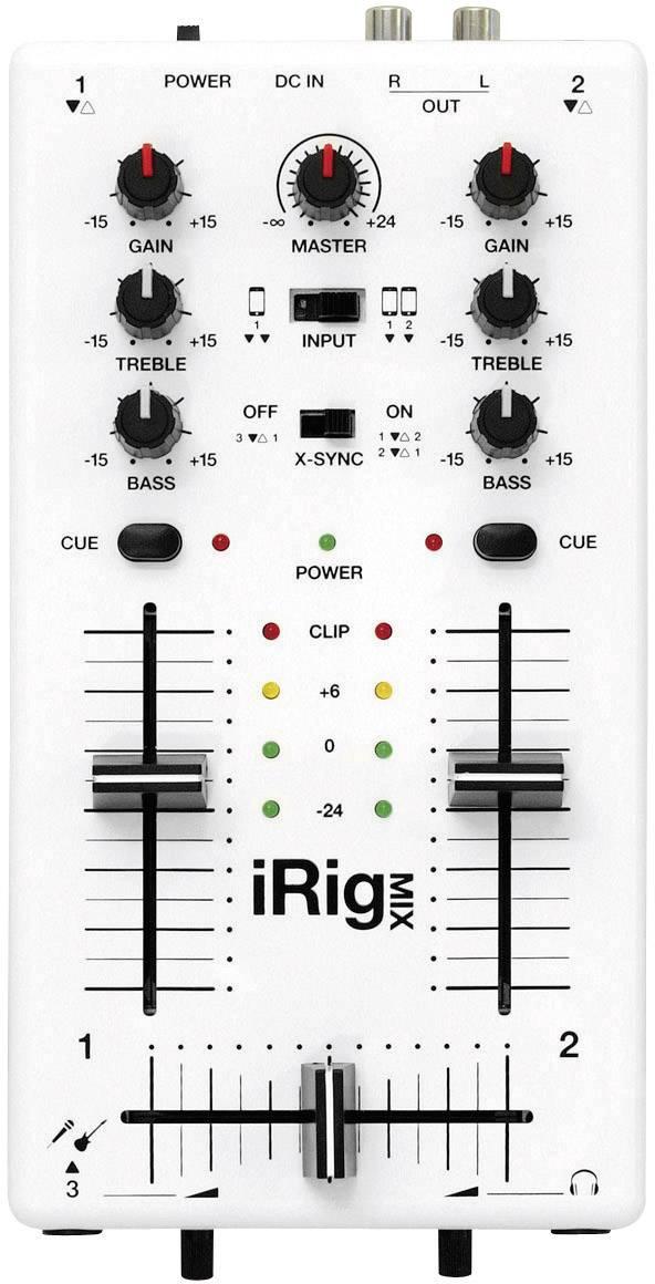 DJ mixážní pult iRig Mix vhodný pro iPhone a iPad