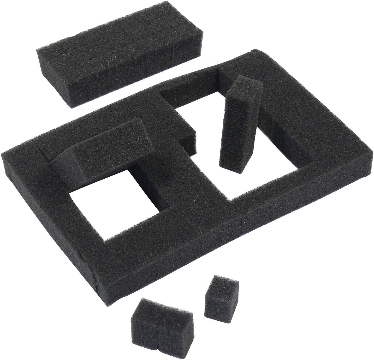 Ochranný kufor 206352 206352, (d x š x v) 210 x 167 x 90 mm, čierna