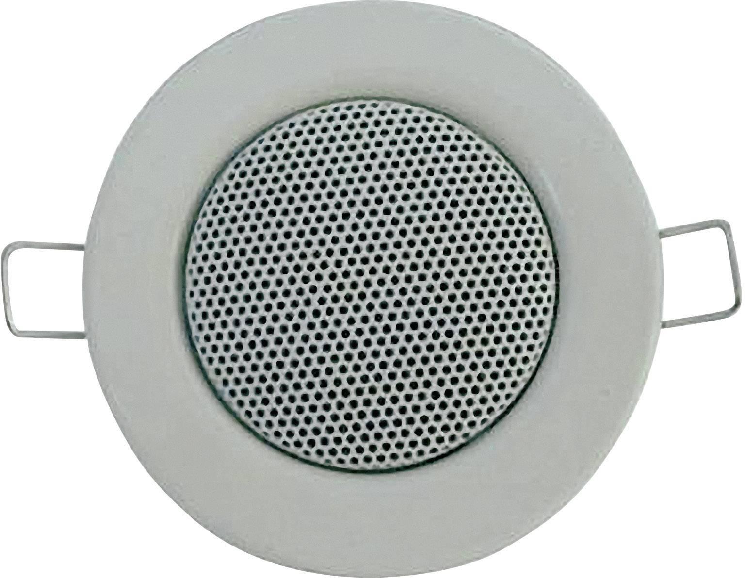 Vestavný reproduktor s designem halogenky, 8 Ω, 1,5/3 W, bílá