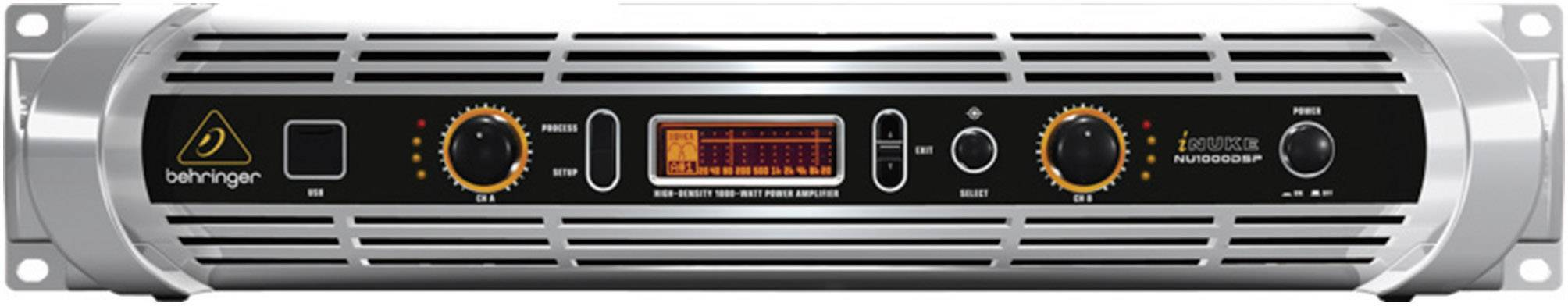 Koncový stupeň Behringer NU 1000 DSP, 2x 210/110 W