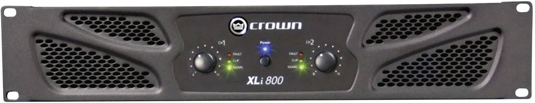 Koncový stupeň Crown XLi 800, 2x 300/200 W