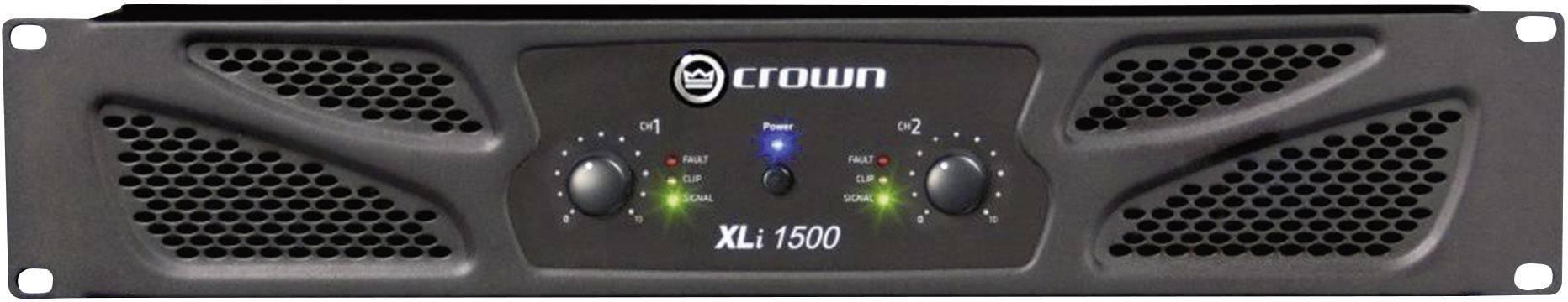 Koncový stupeň Crown XLi 1500, 2x 450/330 W