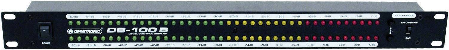 Omnitronic DB-100B, 1-kanálový