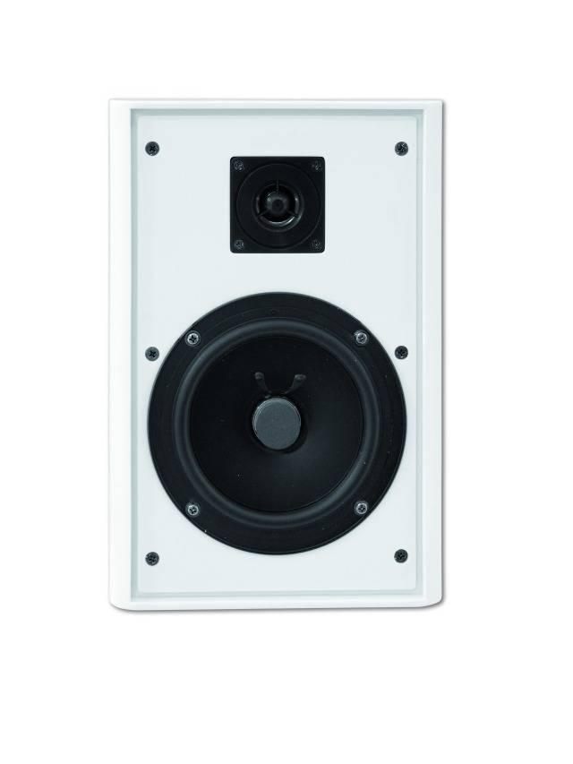 Reproduktor ELA Omnitronic FPS-5, 4 Ω, 88 dB, 10/20 W, bílá