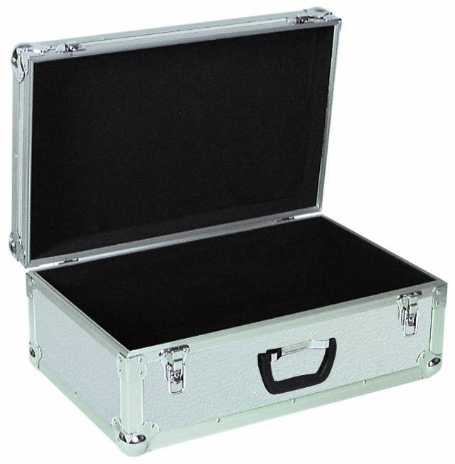 Univerzální hliníkový transportní kufr Tour Pro, 600 x 390 x 260 mm