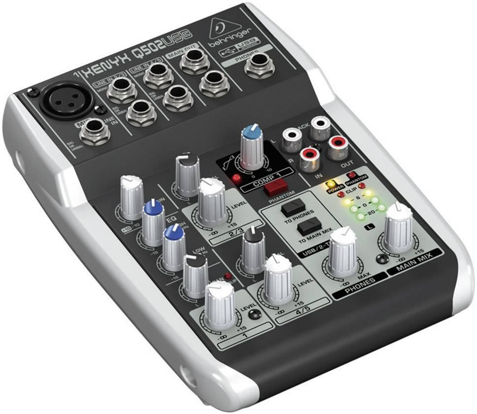 USB mixážní pult Behringer Q502USB