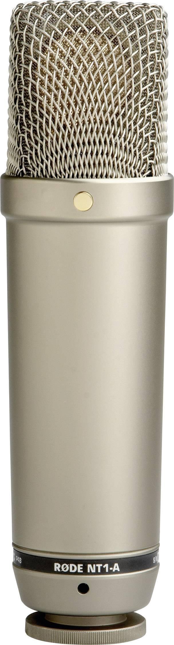 Štúdiový mikrofón RODE Microphones NT1-A, káblový, vr. kábla, vr. pavúka