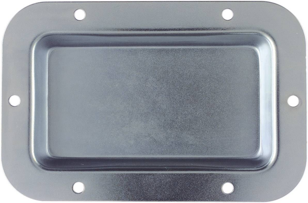 Zásuvkové vstavaná doska Mc Crypt, 136 x 90 mm, čierna