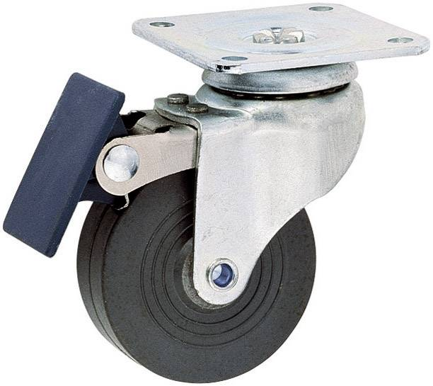 Kolečko s parkovací brzdou Mc Crypt 304446, Ø kola 50 mm, nosnost (max.): 35 kg, 1 ks