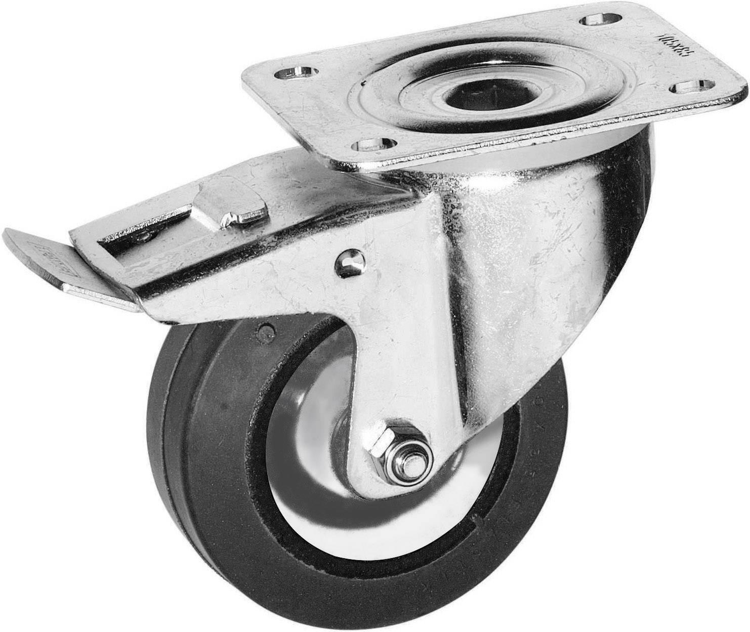 Koliesko s parkovacou brzdou Y96686, Ø kolesa 100 mm, Nosnosť (max.): 110 kg, 1 ks