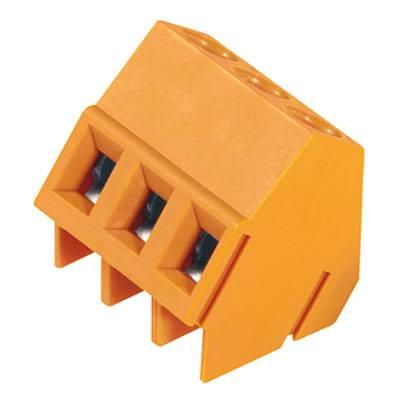 Šroubová svorkovnice Weidmüller LM 5.08/03/135 3.5SN OR BX 1716130000, 2.50 mm², Pólů 3, oranžová, 500 ks