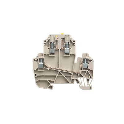 W-Series, Test-disconnect terminal, Rated cross-section: 2,5 mm², Screw connection WDK 2.5/TR-DU Weidmüller Množství: 50 ks
