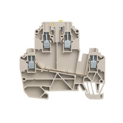 W-Series, Test-disconnect terminal, Rated cross-section: 2,5 mm², Screw connection WDK 2.5/TR-DU STB Weidmüller Množství: 50 ks
