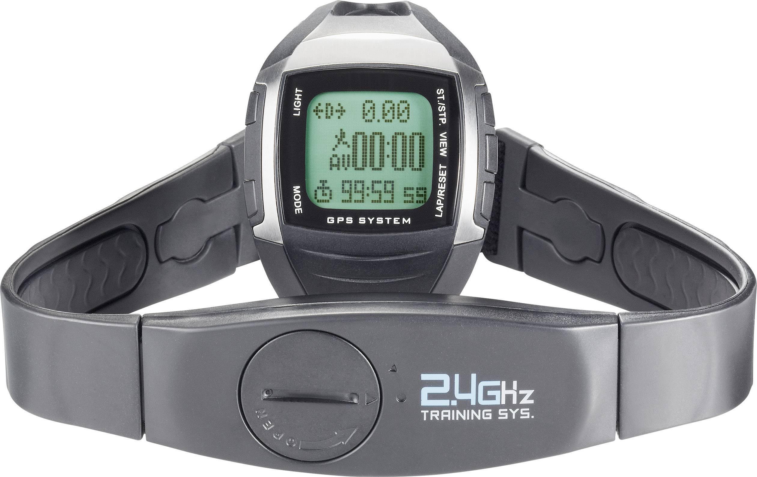Hodinky s meraním pulzu a GPS MULTI NAV-3