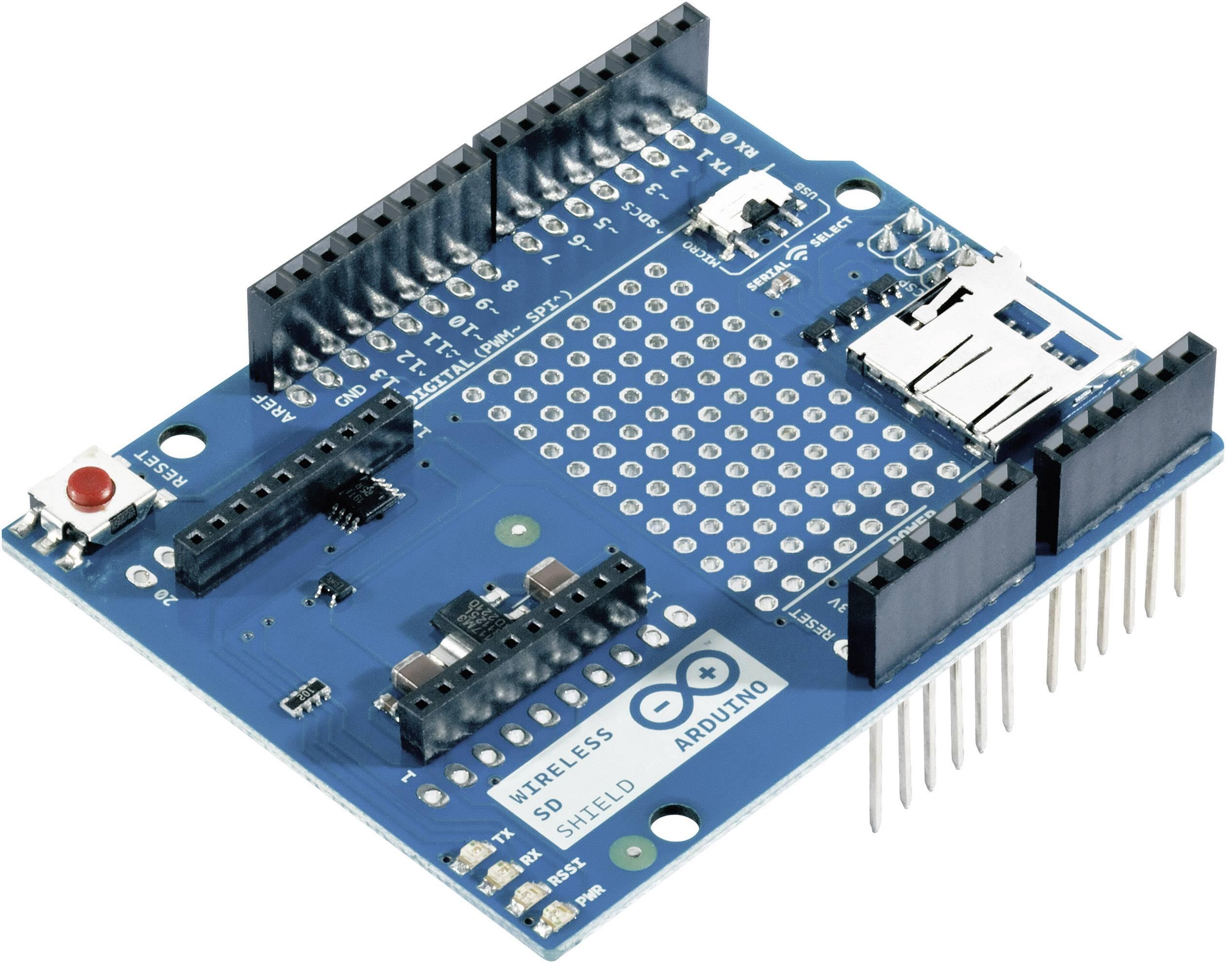 Rozširujúca doska Arduino Wireless SD