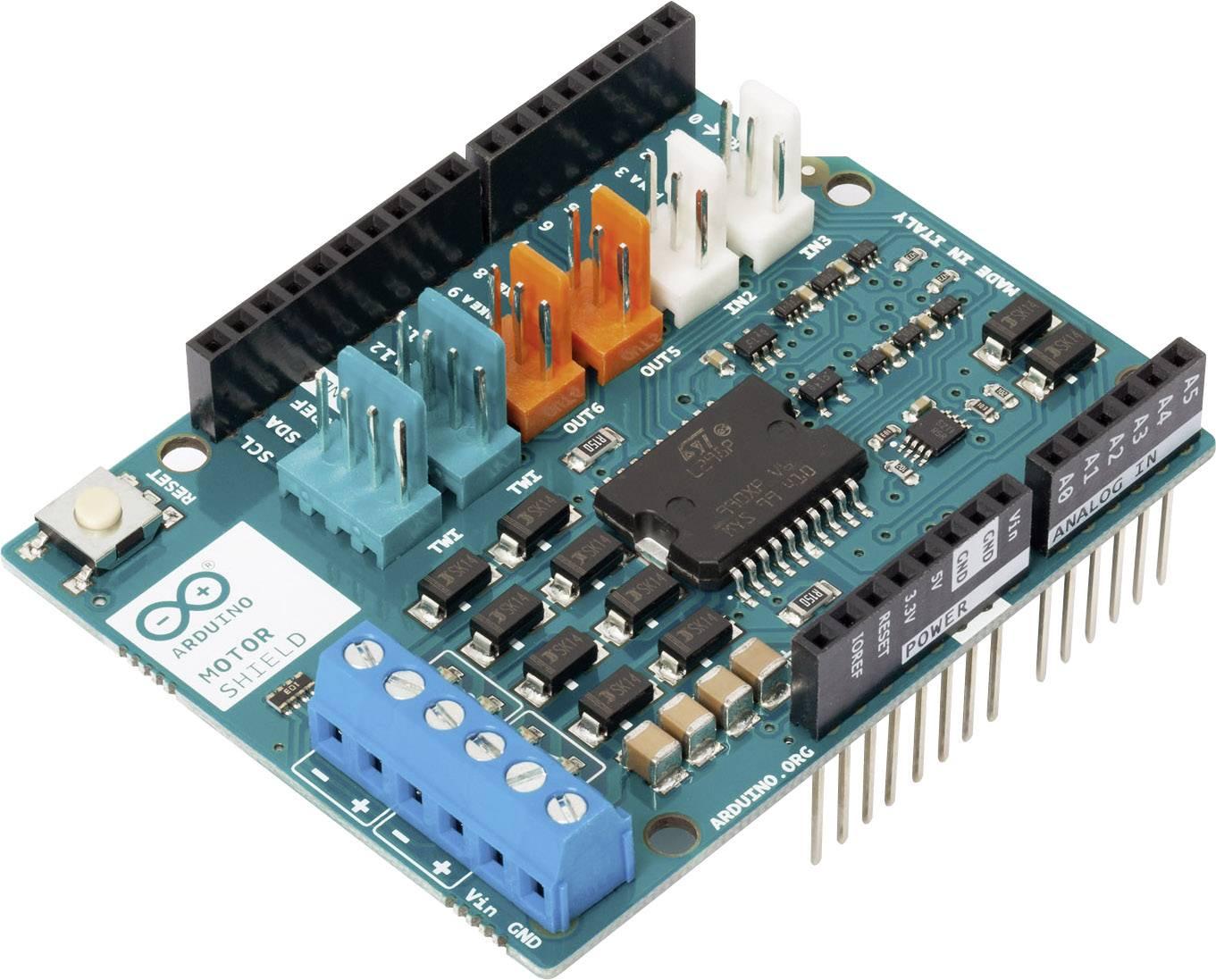 Rozširujúca doska Arduino na riadenie motorov