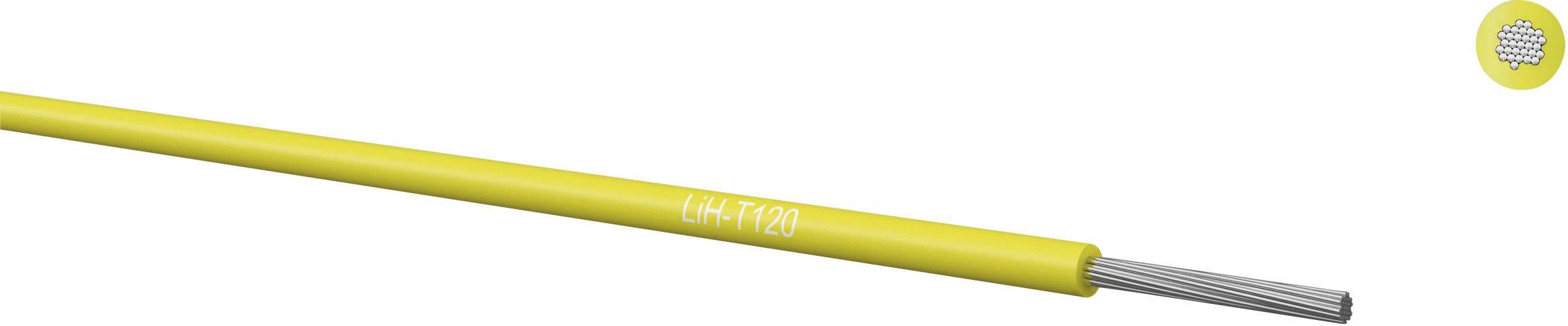 Opletenie / lanko Kabeltronik 065001403 LiH-T, 1 x 0.14 mm², vonkajší Ø 0.85 mm, 100 m, zelená