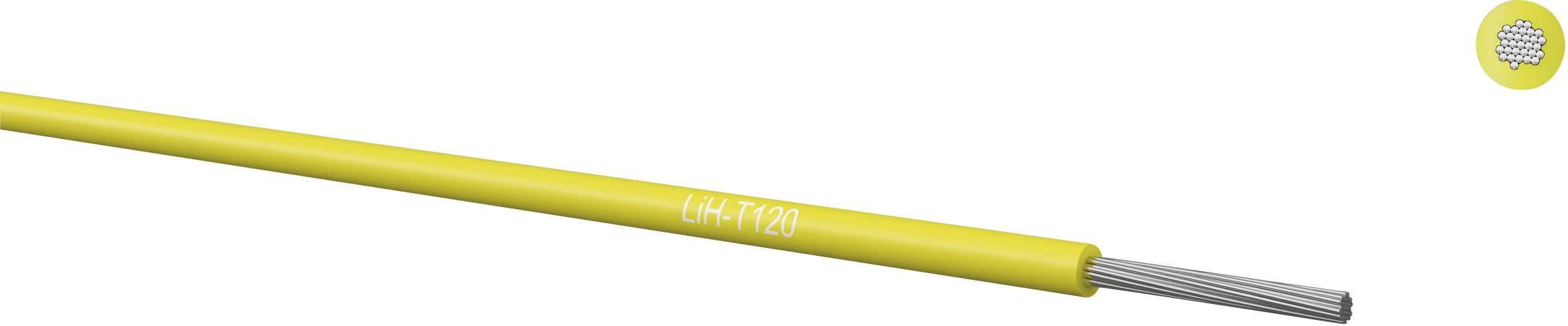 Pletenica LiH-T 1 x 0.14 mm, črna Kabeltronik 065001409 100 m