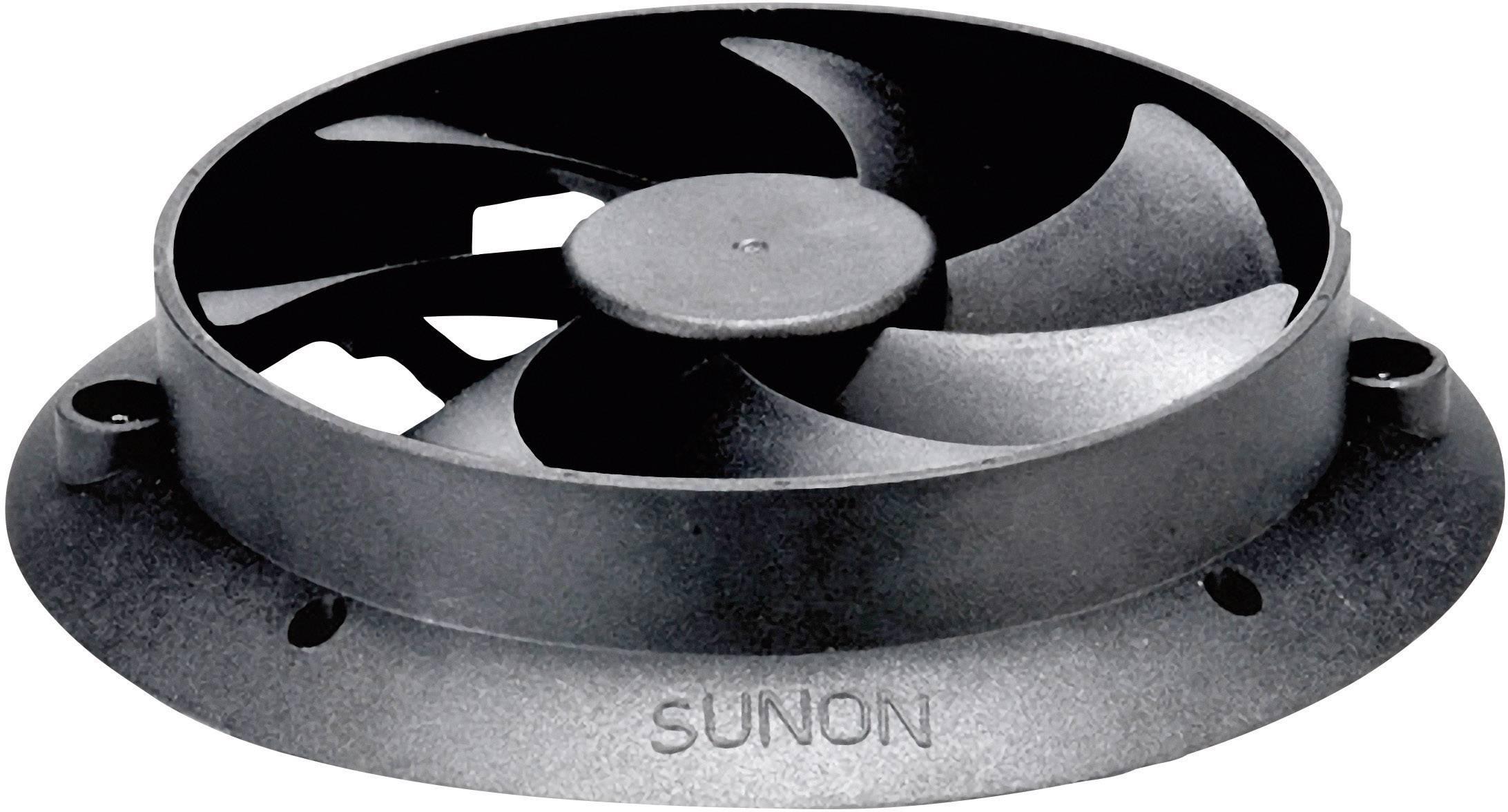 Axiálny ventilátor Sunon HA60151V3-E01U-A99 HA60151V3-E01U-A99, 12 V/DC, 16.1 dB, (Ø x v) 84.9 mm x 15.4 mm