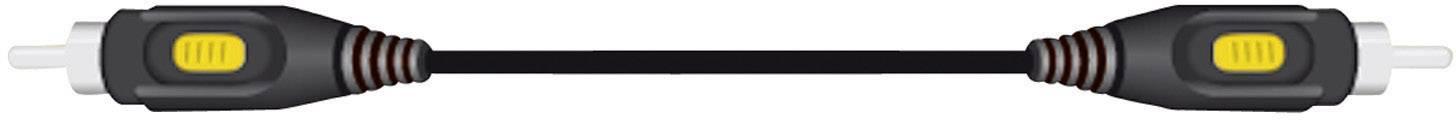 Cinch kabel, SpeaKa Professional 50171, černá, 5 m